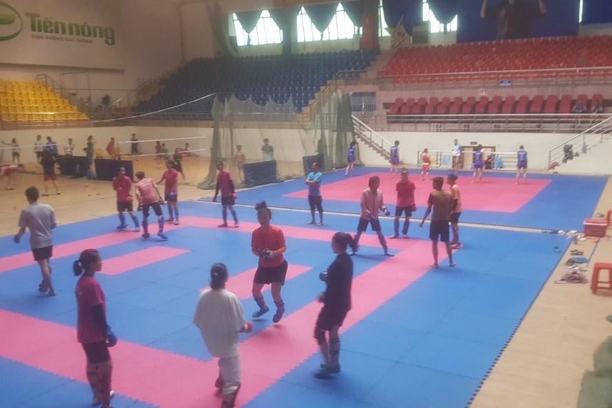 Trung tâm Huấn luyện và Thi đấu TDTT Thanh Hoá. Ảnh: X.H