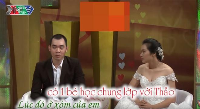 Cặp đôi Phú - Thảo. Ảnh cắt từ clip