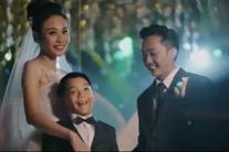 Đàm Thu Trang - Cường Đô La cùng âu yếm con trai trong đám cưới