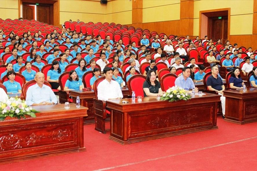 Các đại biểu dự hội nghị. Ảnh: NT