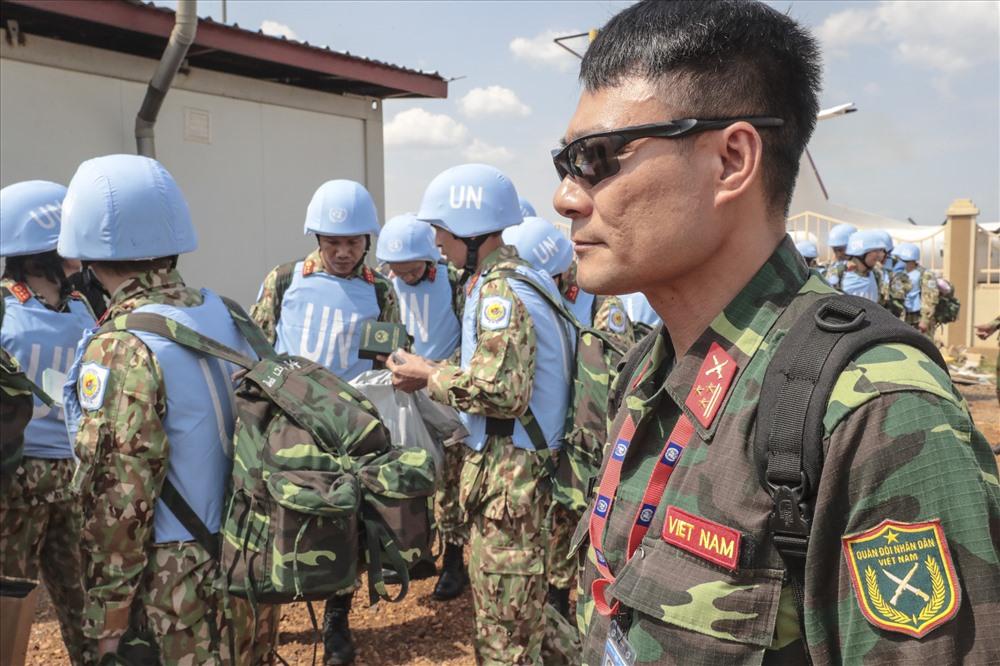 Một số hình ảnh về bệnh viện dã chiến 2.1 đi thực hiện nhiệm vụ gìn giữ hòa bình LHQ. Ảnh: Cục Gìn giữ Hòa bình cung cấp