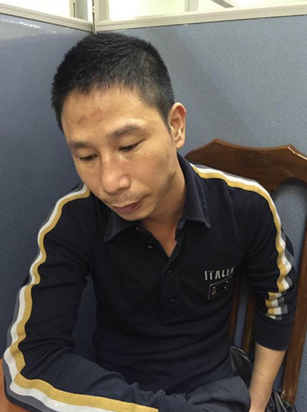 """Đối tượng Hoàng Lại Nam (tức Nam """"ngọ"""") cầm đầu đường dây tổ chức đánh bạc. Ảnh BCA"""