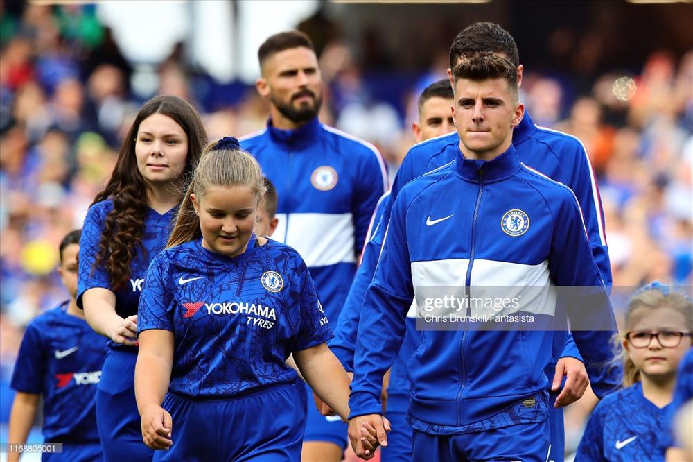 Mason Mount đang có những trận đấu đầu mùa khá thành công cho Chelsea. Ảnh: Getty