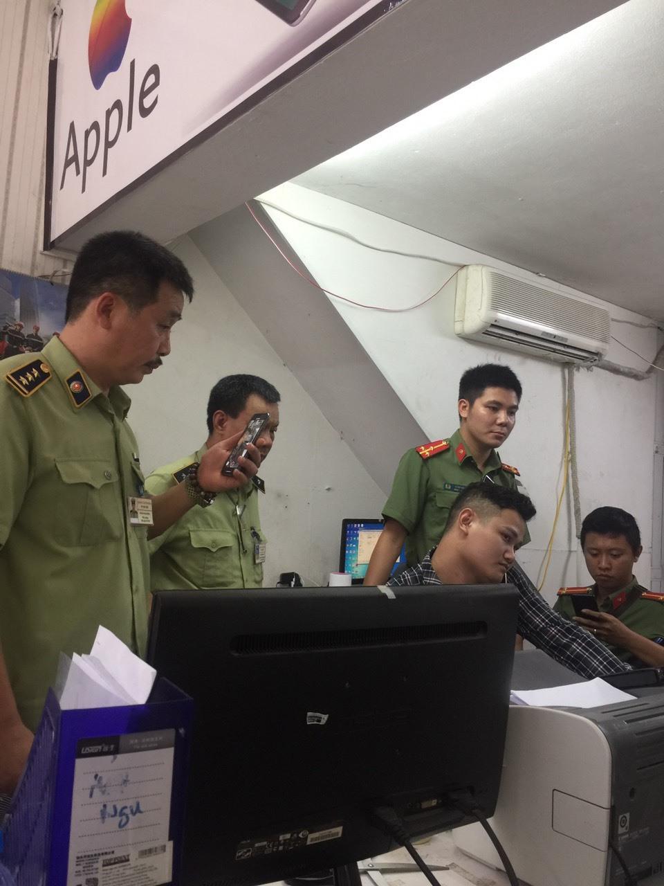 Đoàn kiểm tra làm việc với Đại diện Công ty TNHH RELEX Việt Nam