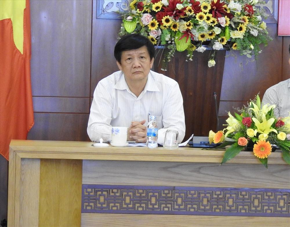 Ông Trần Sơn Hải - nguyên Phó chủ tịch Thường trực UBND tỉnh Khánh Hòa. Ảnh: PV
