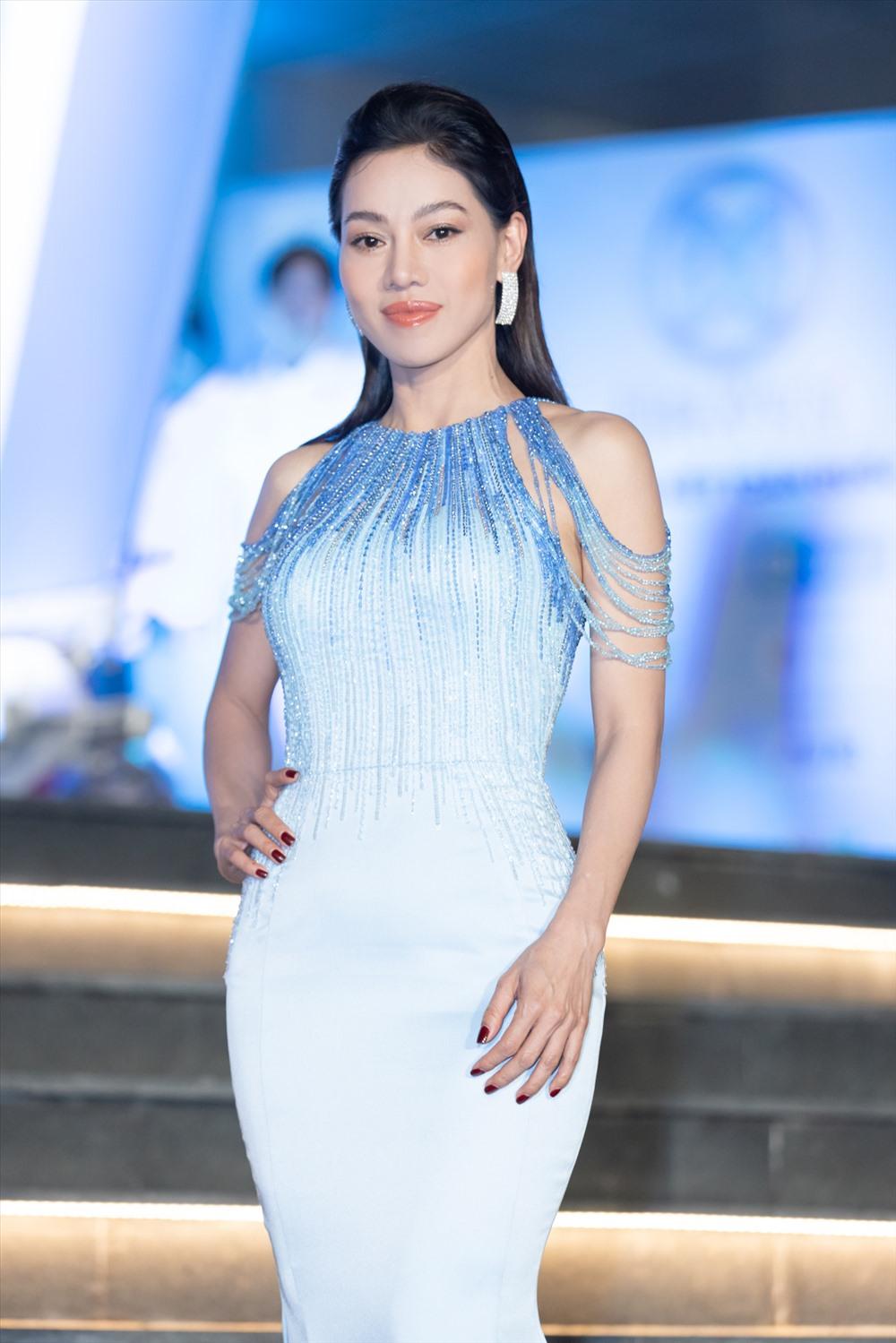 """""""Bà trùm hoa hậu"""" Phạm Kim Dung - Chủ tịch cuộc thi Miss World Việt Nam 2019. Ảnh: MWVN."""