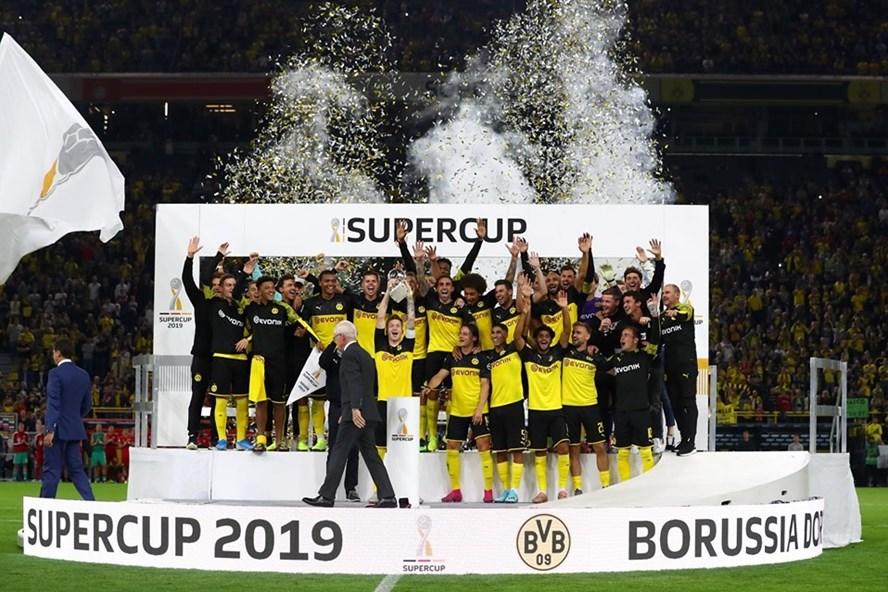 Dortmund xứng đáng với danh hiệu Siêu cúp Đức 2019. Ảnh: UEFA