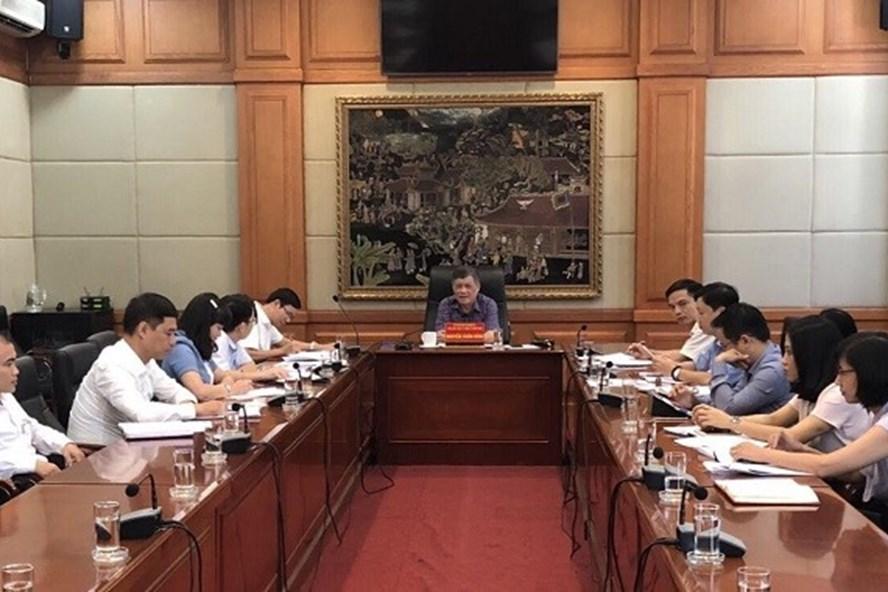 Từ đầu tháng 8.2019, Văn phòng UBND TP Hải Phòng không sử dụng sản phẩm nhựa một lần tại các cuộc họp, hội nghị. Ảnh: CTV