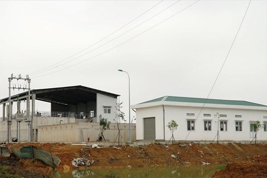 Nhà máy nước cấp nước cho thị xã Cửa Lò được xây dựng tại xã Nghi Hoa (Nghi Lộc-Nghệ An), tổng mức đầu tư 16 triệu USD. Ảnh: QĐ