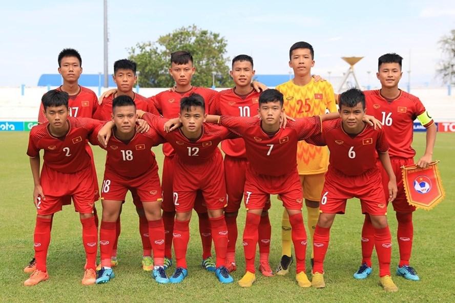 U15 Việt Nam thua ngược Malaysia, qua đó dừng chân ở bán kết giải Đông Nam Á 2019. Ảnh: VFF