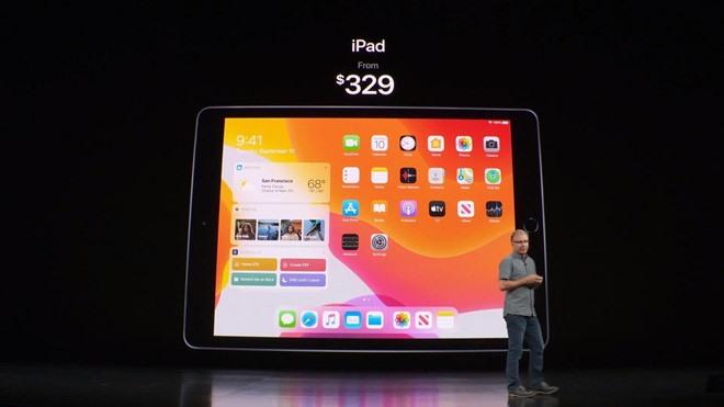 Apple cho biết, iPad thế hệ thứ 7 có tốc độ xử lý nhanh gấp 2 lần so với phiên bản tiền nhiệm.