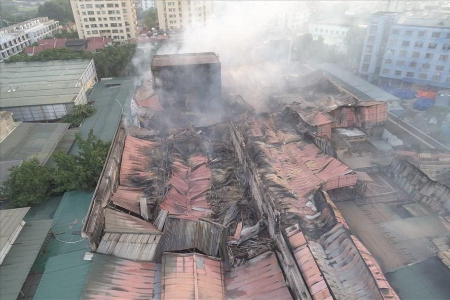 Sự cố cháy tại Công ty Rạng Đông. Ảnh: CTV.