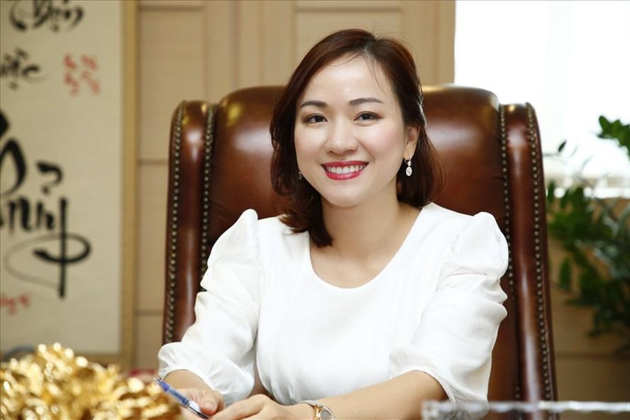 Bà Lê Thu Thủy - Tổng Giám đốc của SeABank. Ảnh: SeABank