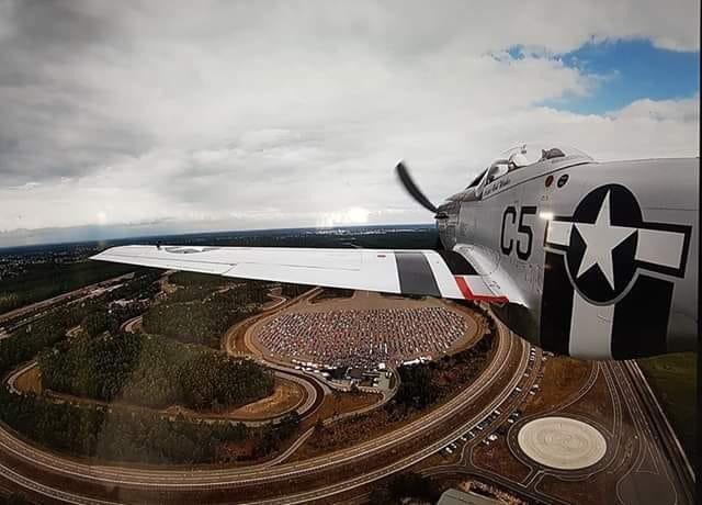 """Một chiếc máy bay chiến đấu P50 Mustang được đều động để """"trực chiến""""... Ảnh: Ford"""