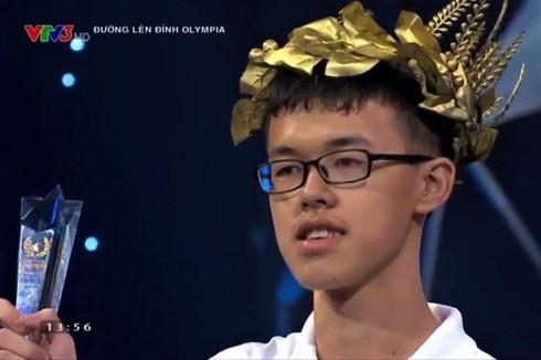 Trong vong thi Quý IV, Đoàn Nam Thắng xuất sắc vượt qua 3 thí sinh còn lại với số điểm 210. Ảnh: LX