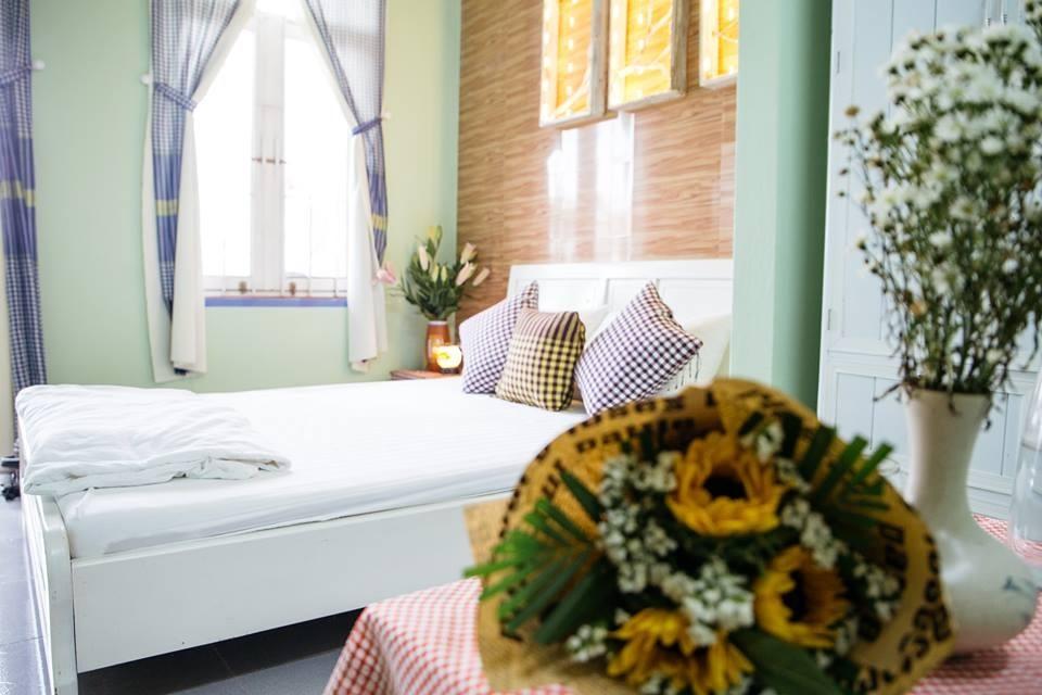 Shmily Homestay Huế có mỗi phòng ngủ được thiết kế khác nhau.