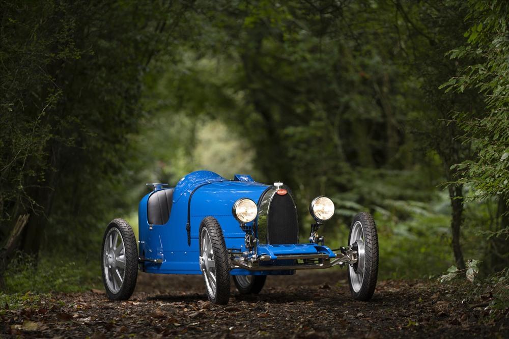 Mẫu Bugatti Baby II được lấy cảm hứng từ chiếc
