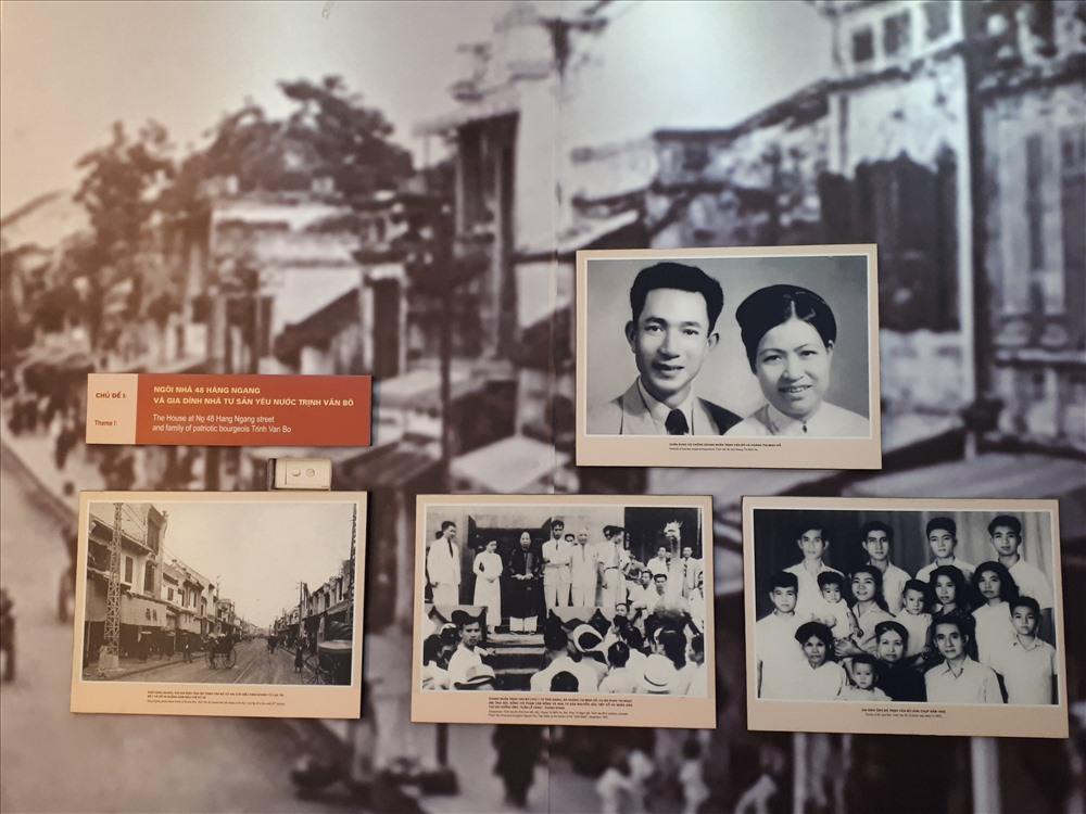 Căn nhà 48 Hàng Ngang là của gia đình ông Trịnh Văn Bô, một tư sản dân tộc được giác ngộ cách mạng sớm và trở thành đảng viên cộng sản.