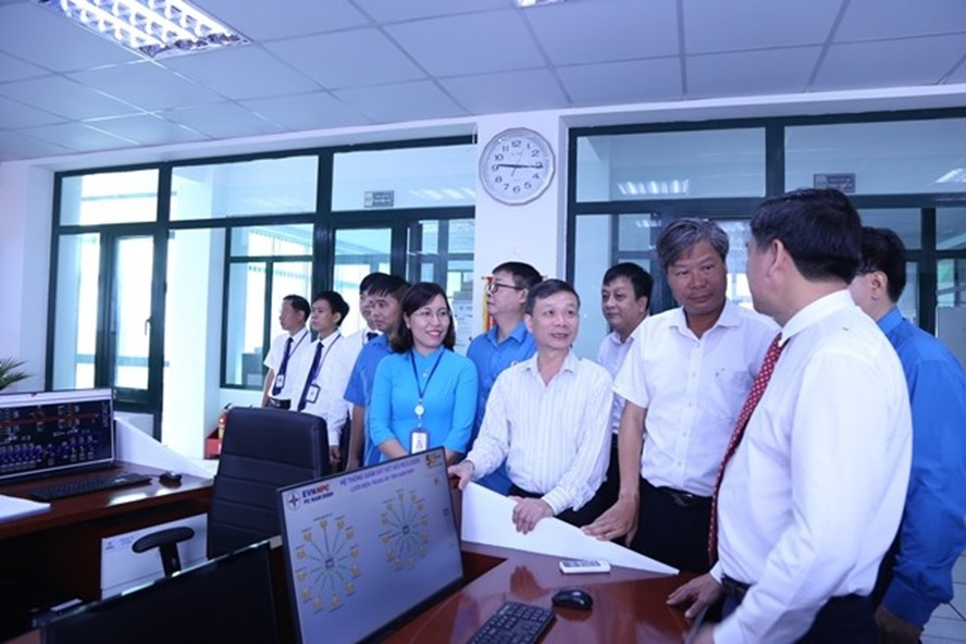 Trung tâm điều khiển xa được khánh thành và đưa vào sử dụng từ ngafy.9.2019. Ảnh: Mai Phương