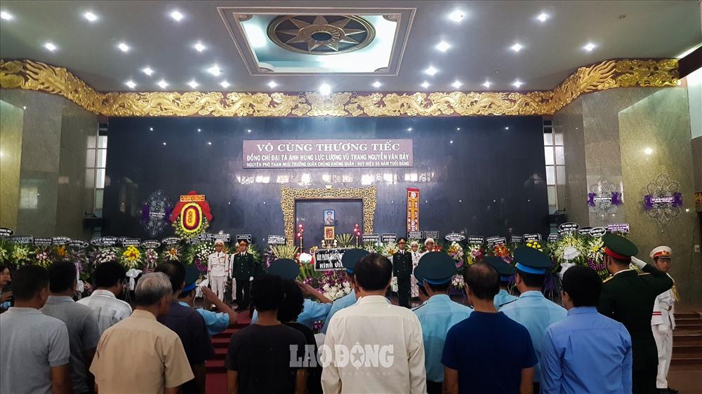 Kính cẩn nghiêng mình tiễn biệt Anh hùng lực lượng vũ trang nhân dân Nguyễn Văn Bảy