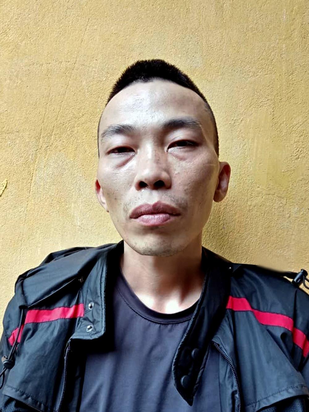Đối tượng Lê Anh Việt. Ảnh: Minh Lý