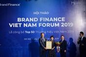 Viettel lại tiếp tục dẫn đầu thương hiệu giá trị  nhất Việt Nam