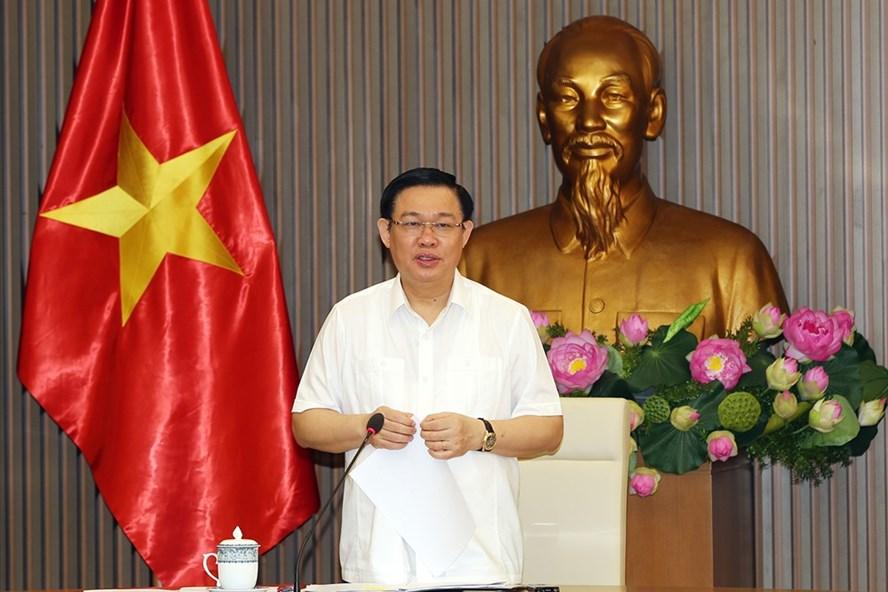 Phó Thủ tướng Vương Đình Huệ. Ảnh: T.Chung.