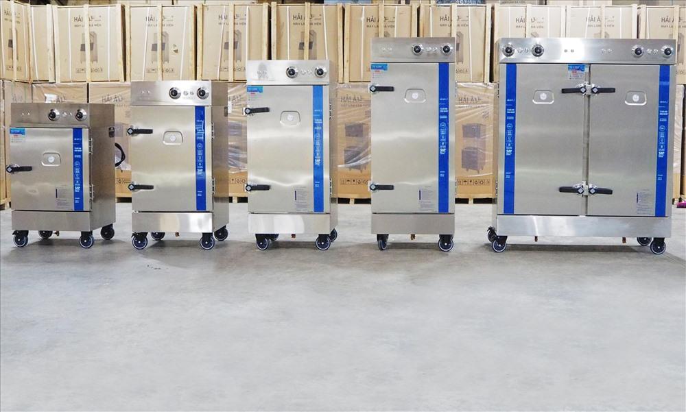 Một số model tủ cơm công nghiệp Hải Âu được ra mắt tháng 8.2019.