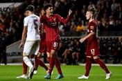 Thắng nhẹ MK Dons 2-0, Liverpool vào vòng 4 Cúp Liên đoàn