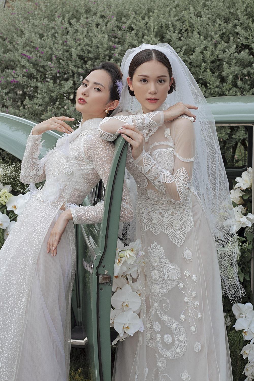 Xuất hiện cùng Linh Rin trong bộ hình còn có người mẫu Diệu Linh.