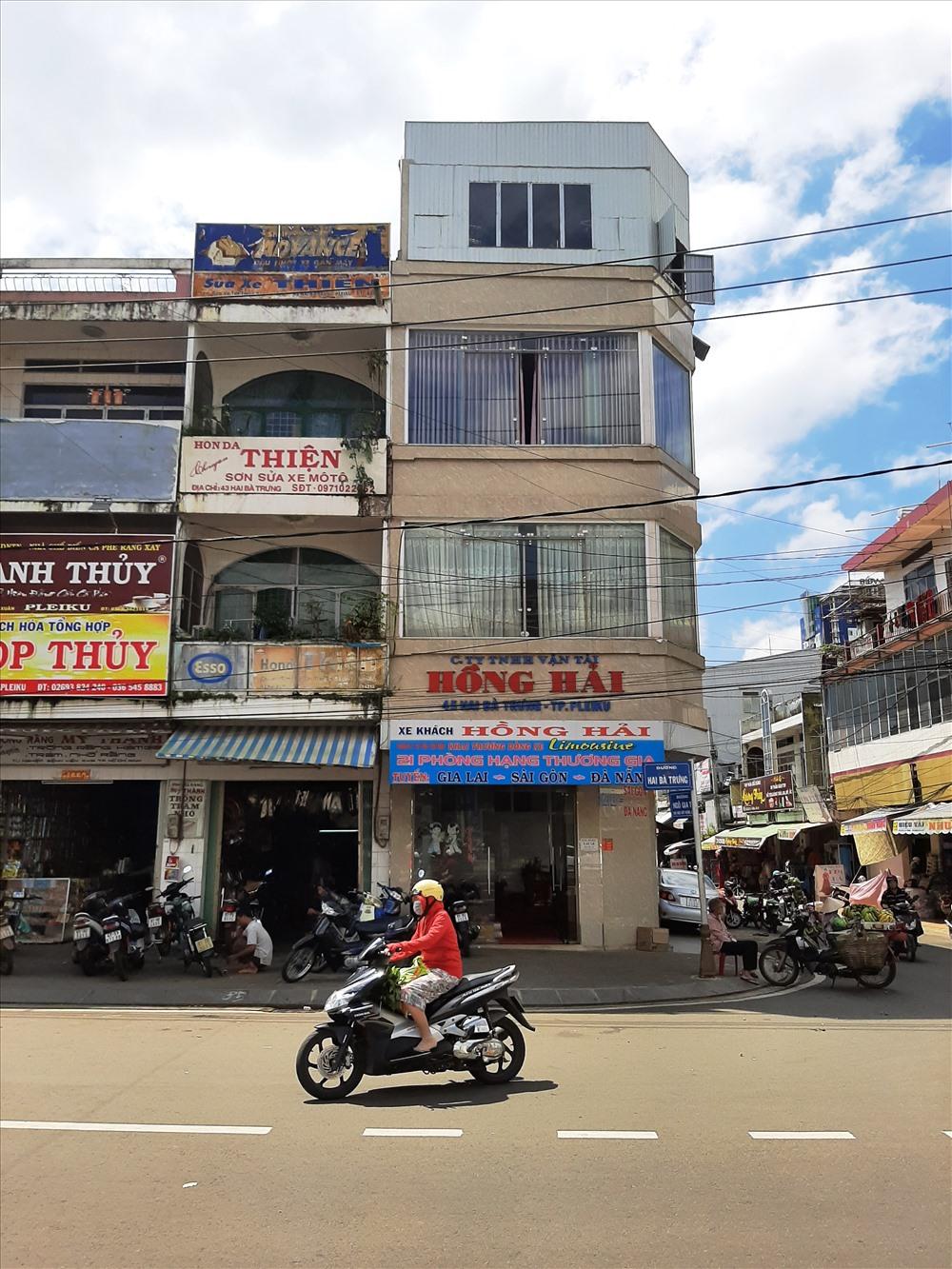 Công ty TNHH Vận tải Hồng Hải ký 4 hợp đồng lao động đối với nhân viên chưa đúng quy định. Ảnh Đình Văn