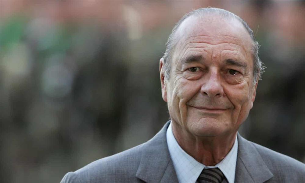 Ông Jacques Chirac trong chuyến thăm Berlin năm 2007. Ảnh: Getty Images