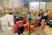 """Hải Phòng: Thu giữ gần 9.000 sản phẩm """"hàng hiệu"""" nhập lậu, trị giá 1 tỉ"""