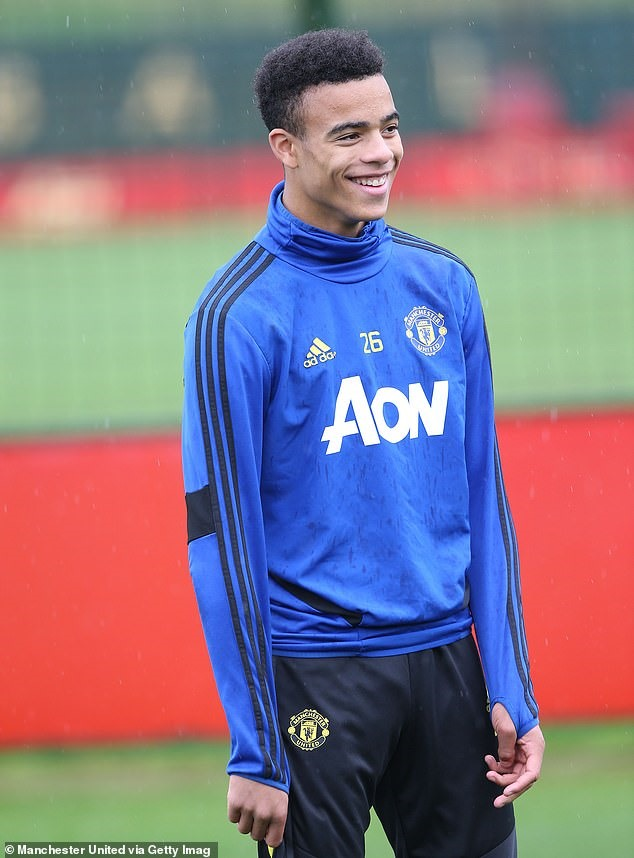 Mason Greenwood. Ảnh: Getty.