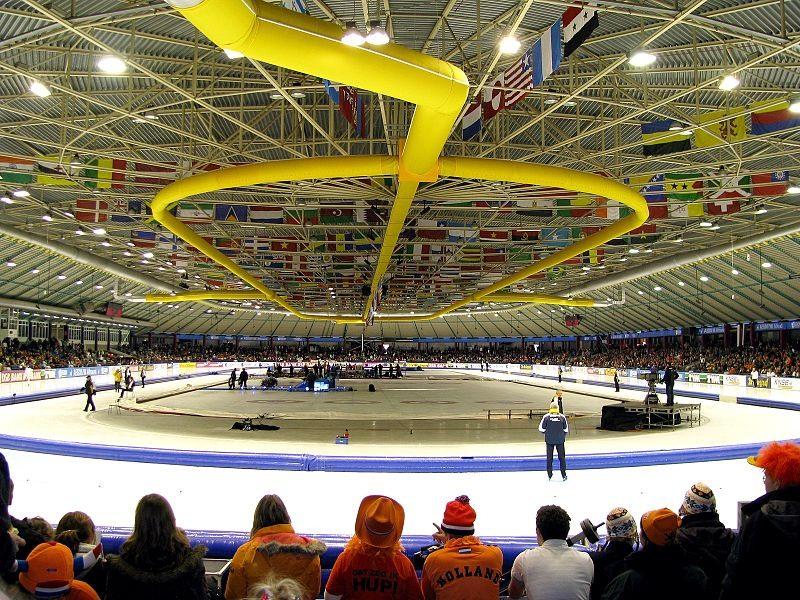 Heerenveen được cả thế giới biết đến với đấu trường trượt băng Thialf