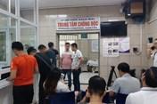Hơn 100 người đã đến Trung tâm Chống độc làm xét nghiệm thủy ngân