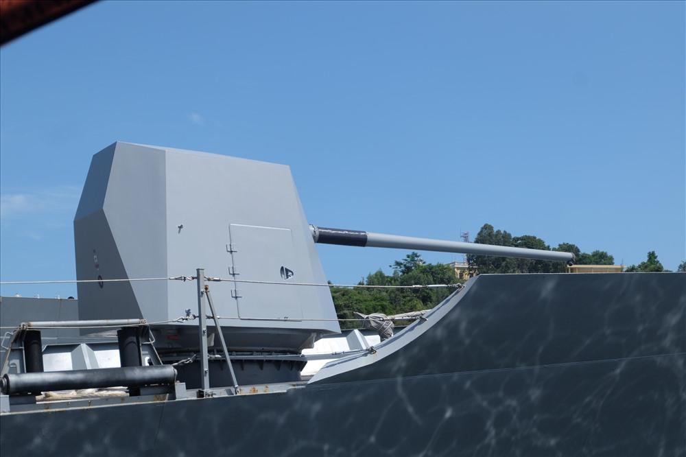 Hệ thống vũ khí và trên tàu.