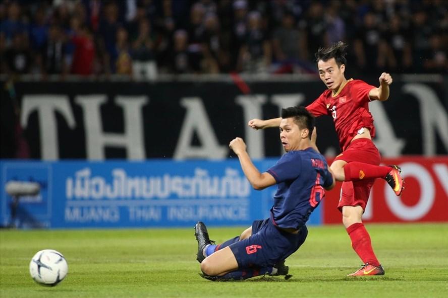 """Truyền thông Thái Lan gọi đây là trận hòa """"đáng xấu hổ"""" của tuyển Thái Lan trước tuyển Việt Nam. Ảnh: Đ.Đ"""