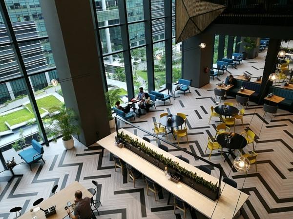 Văn phòng làm việc của Google Châu Á - Thái Bình Dương đặt tại Singapore (ảnh: Hải Đăng).