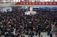 """Trung Quốc vào mùa """"xuân vận"""", ngộp thở với 3 tỉ chuyến đi trong 40 ngày"""