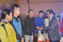 Trưởng ban Nội chính Trung ương dự Tết Sum vầy tại Thái Nguyên