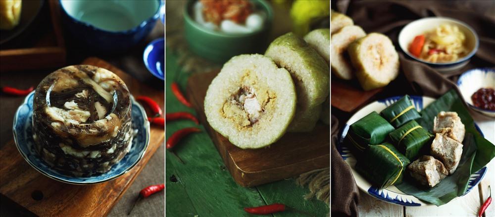 Các chương trình ẩm thực tại Khách sạn Sunrise Nha Trang luôn có những món ăn truyền thống trong ngày Tết như bánh chưng, bánh tét, củ kiệu, dưa món, thịt đông…