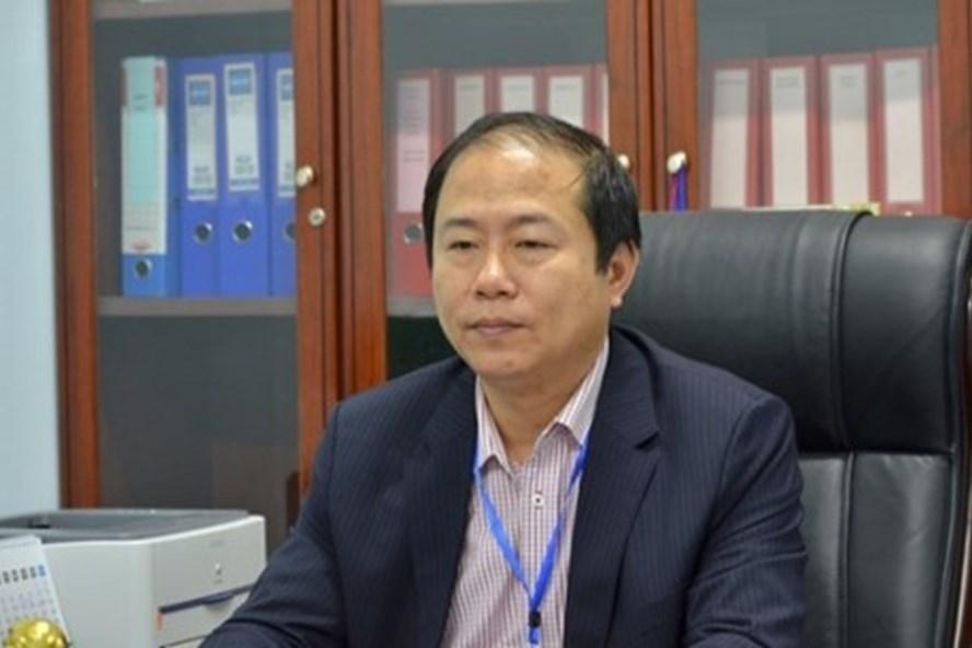 Chủ tịch Hội đồng Thành viên Tổng Công ty Đường sắt Việt Nam - Vũ Anh Minh. Ảnh LDO