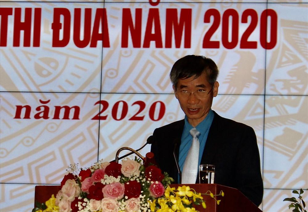Đồng chí Trần Văn Thuật phát biểu chỉ đạo hội nghi. Ảnh PV