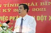 Ông Ngô Đông Hải được giới thiệu tái cử Bí thư Tỉnh ủy Thái Bình