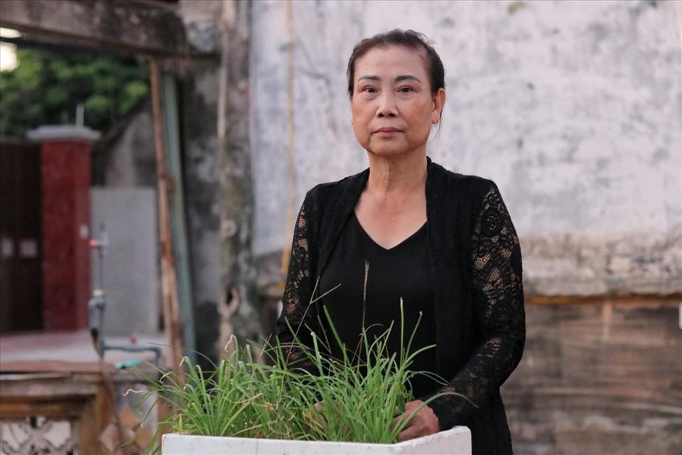 Bà Mai Thị Xanh có 7 năm gắn bó với công tác dân vận tại địa phương. Ảnh: LN