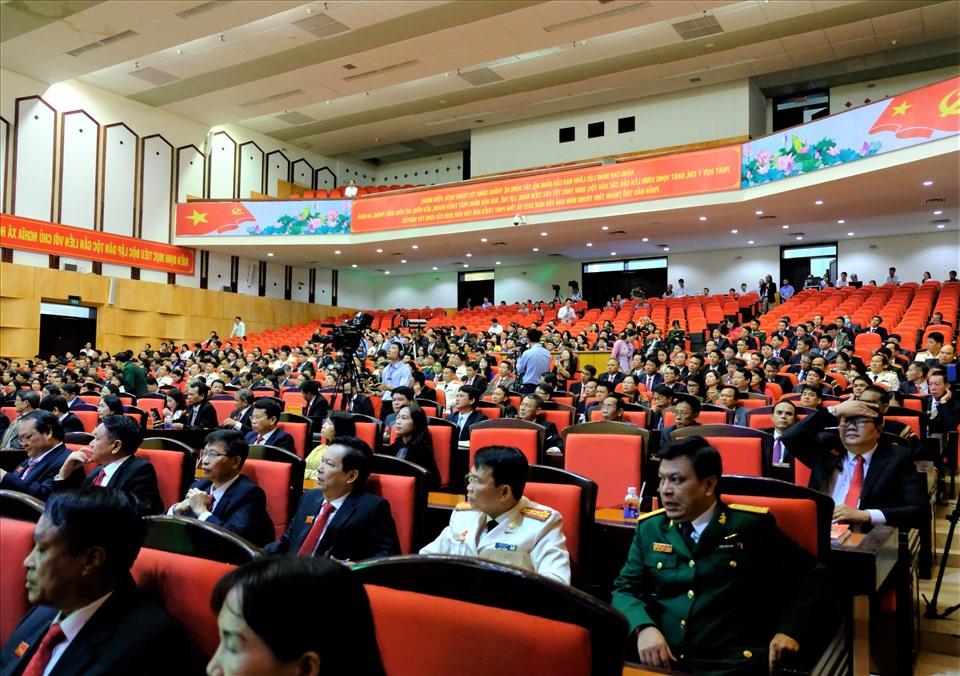 Các đại biểu tham dự Đại hội. Ảnh T.X