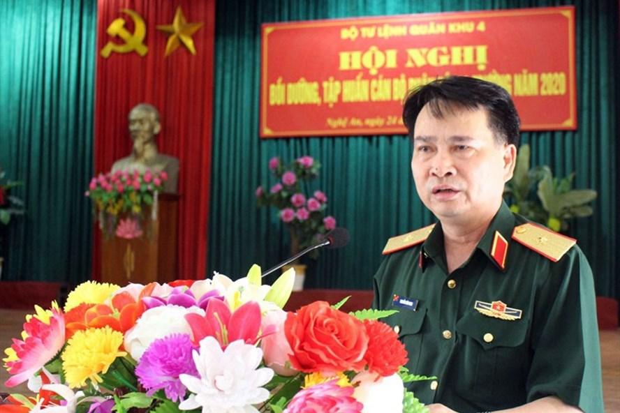 Thiếu tướng Nguyễn Văn Man - Phó Tư lệnh Quân khu 4 lúc sinh thời. Ảnh: QK4