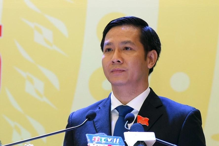 Ông Nguyễn Thành Tâm tái đắc cử Bí thư Tỉnh uỷ Tây Ninh. Ảnh: Báo Tây Ninh