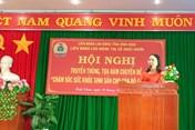 LĐLĐ thị xã Hoài Nhơn tổ chức Kỷ niệm ngày thành lập Hội Liên hiệp Phụ nữ